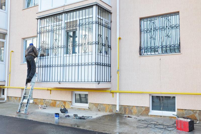 installazione e manutenzione grate di sicurezza